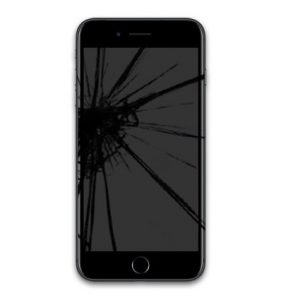 iphone 7 plus cracked screen